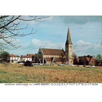 All Saints, Woodford Green Church - Postcard by Judges Limited, Hastings, England