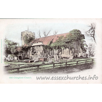 All Saints (Old Church), Chingford Church - Published by H. Barber, Walthamstow.