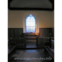All Saints, Vange Church - The chancel.