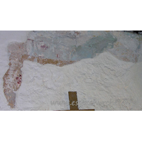 All Saints, Vange Church - Fragments of a wall painting, on the S chancel wall.