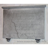 All Saints, Vange Church - Beneath this Marble