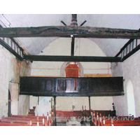 All Saints, Vange Church - The West end, before repairs commenced. Taken 