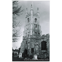 St Mary the Virgin, Prittlewell Church - Dated 1966. One of a series of photos purchased on ebay. Photographer unknown.