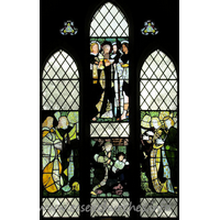 St Mary (Old Church), Frinton-on-Sea Church - Here are four panels of Morris glass, designed by Burne-Jones. 