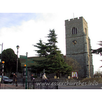 St Clement, Leigh-on-Sea Church - The tower is around 80ft in height, and is constructed from 