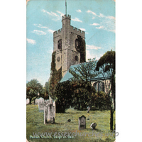 St Clement, Leigh-on-Sea Church - This beautiful series of Fine Art Post Cards is supplied free exclusively by Christian Novels Publishing Co.