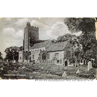 St Andrew, Rochford Church - Postcard - Summerfield's Series, Prittlewell