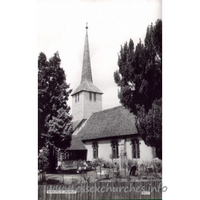 St Mary the Virgin, Shenfield Church - Postcard by Cranley Commercial Calendars, Ilford, Essex.