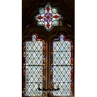 St Andrew, South Shoebury Church - The W window.
