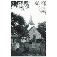 St Peter & St Paul, Stondon Massey Church - Dated 1970. One of a series of photos purchased on ebay. Photographer unknown.