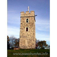 St Michael, Pitsea Church -    This tower, though much restored, dates from around 1500.