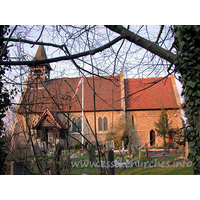 St Catherine, Wickford Church - The church at Wickford was built upon the foundations of the old parish church in 1876.