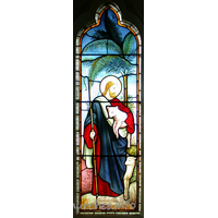 St Catherine, Wickford Church - This window depicts the Good Shepherd.
