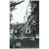 St Margaret, Stanford Rivers Church - Dated 1975. One of a series of photos purchased on ebay. Photographer unknown.