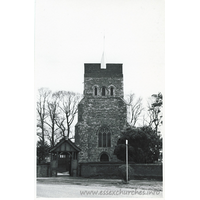 St Mary & All Saints, Great Stambridge Church - Dated 1966. One of a series of photos purchased on ebay. Photographer unknown.