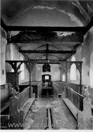 St Mary, Mundon Church - Showing the church before being taken into the care of the Friends of Friendless Churches.