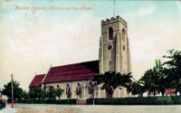 All Saints, Walton-on-the-Naze Church - Postcard - Valentine's Series.
