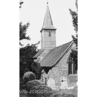 St Mary the Virgin & All Saints, Langdon Hills Old Church - This photograph was obtained on eBay. Unfortunately, I have no details of date or photographer etc.