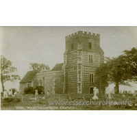 St Clement, West Thurrock Church - The Bell series of Real Photos in Silver Print.