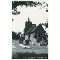 St Michael, Theydon Mount Church - Dated 1970. One of a series of photos purchased on ebay. Photographer unknown.