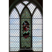 St Giles, Mountnessing Church - The east window.