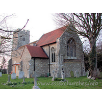 St Nicholas, Rawreth Church - With a few exceptions, the church is dated 1882, to the design 