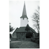 All Saints, Stock Harvard Church - Dated 1962. One of a series of photos purchased on ebay. Photographer unknown.