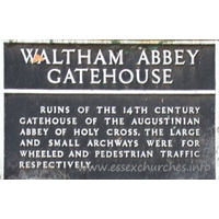 Holy Cross, Waltham Abbey Church