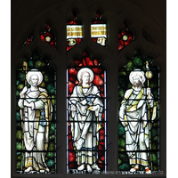 St Peter ad Vincula, Coggeshall Church - The Glorious company of the Apostles praise thee === Saint Peter === Saint John === Saint James