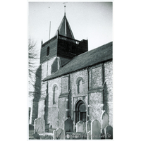 St John the Baptist, Great Clacton Church - Dated 1963. One of a series of photos purchased on ebay. Photographer unknown.