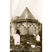 St Lawrence, East Donyland Church - Postcard by Smiths.
