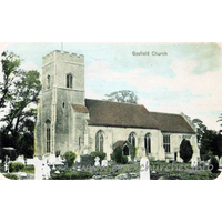 St Katharine, Gosfield Church - Published by Hamish Valentine, Earls Colne, Essex.