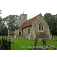 All Saints, Rickling Church