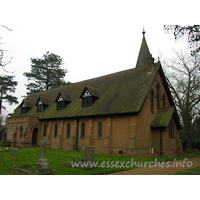 St Nicholas, Kelvedon Hatch Church