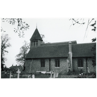 St Albright, Stanway  Church - Dated 1970. One of a series of photos purchased on ebay. Photographer unknown.