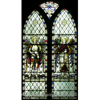 St Michael & All Angels, Copford Church - The W window.