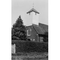 St Mary the Virgin, Layer Breton New Church - Dated 1970. One of a set of photos obtained from Ebay. Photographer and copyright details unknown.