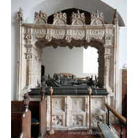 St Mary the Virgin, Layer Marney Church - Monument to Henry, 1st Lord Marney (d.1523):