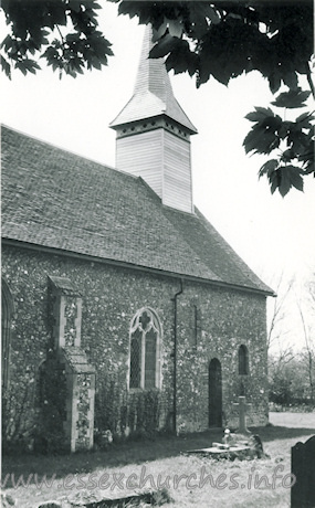 St Mary the Virgin, Easthorpe Church - Dated 1970. One of a set of photos obtained from Ebay. Photographer and copyright details unknown.