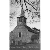 St Mary the Virgin, Little Hallingbury Church - Dated 1966. One of a set of photos obtained from Ebay. Photographer and copyright details unknown.