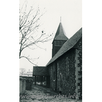 St Andrew, Netteswellbury Church - Dated 1968. One of a set of photos obtained from Ebay. Photographer and copyright details unknown.