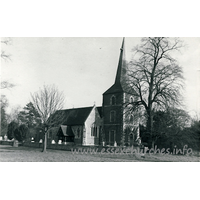 All Saints, Terling Church - Dated 1967. One of a set of photos obtained from Ebay. Photographer and copyright details unknown.