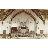 Methodist Free Church (Trinity Methodist Church), Westcliff-on-Sea  Church - Many thanks to Tony Brown for supplying the scan of this rare postcard, which is postmarked 1910.